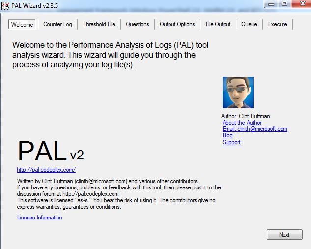 Exchange Anywhere: Performance Analysis of Logs (PAL) Tool
