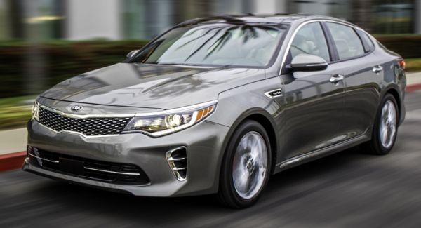 2017 Kia Optima Design
