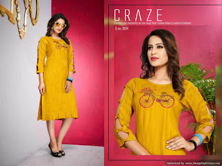 Trendy Pearl Heavy Rayon Kurti Collection