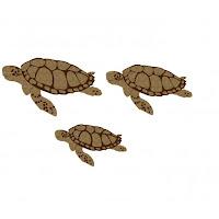 Creative Embellishments Sea turtle