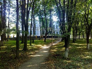 Браилов. Усадьба Н. Ф. фон Мекк. Парк