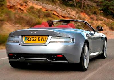 Aston Martin DB9 with Anti lock Braking ABS