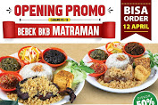 Promo Bebek BKB Matraman Diskon 50% All Menu