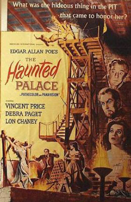 The haunted palace, 1963, una aproximación a Lovecraft dirigida por Roger Corman