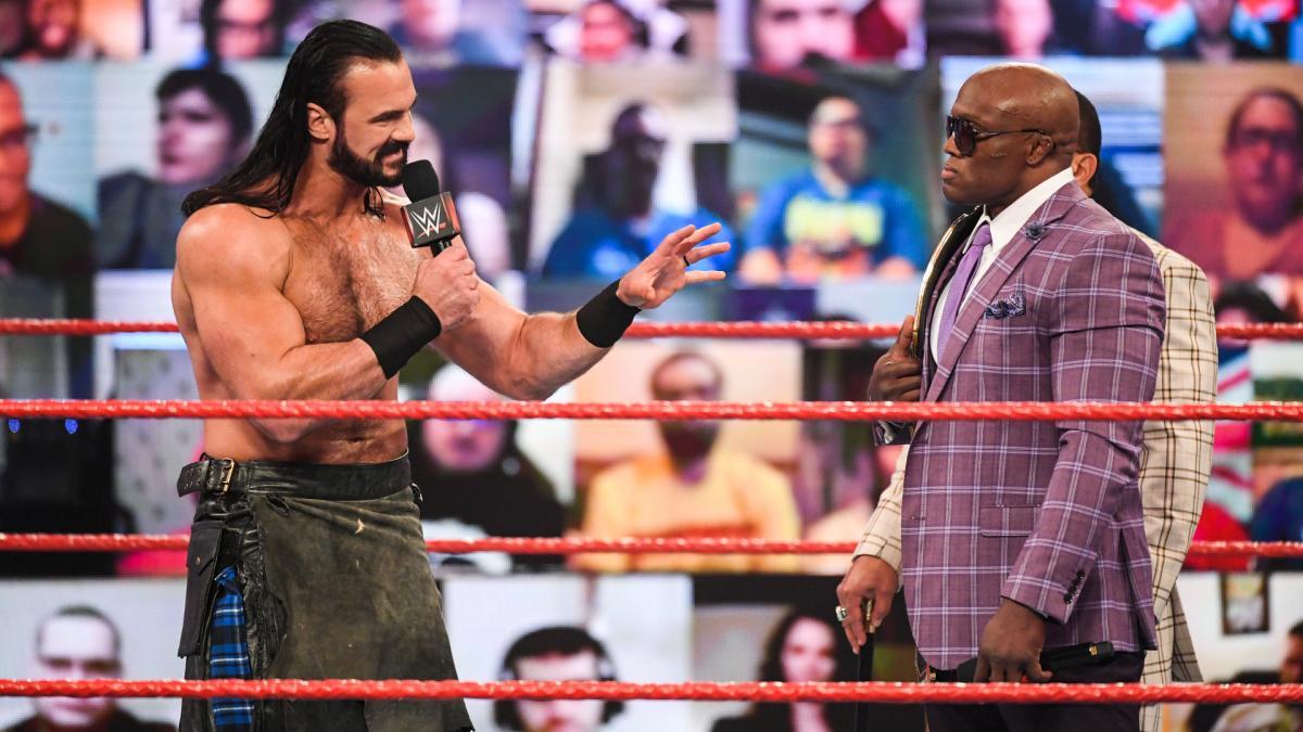 Drew McIntyre and Bobby Lashley on WWE RAW