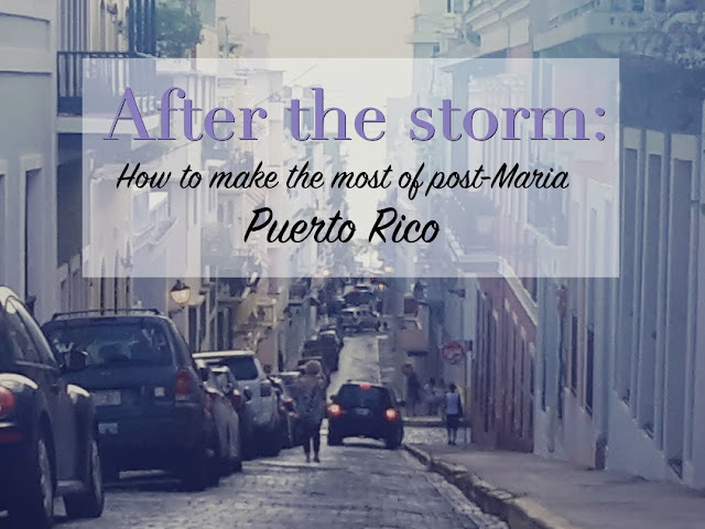 How to make the most of post-Maria Puerto Rico