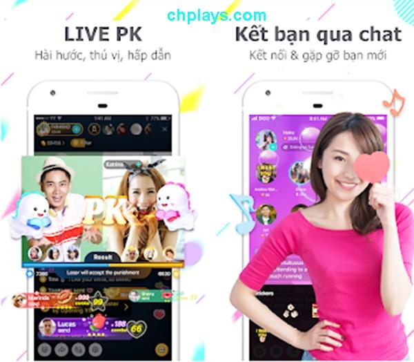 Tải BIGO LIVE, Phát video trực tiếp cho máy Android trên Web, APP c