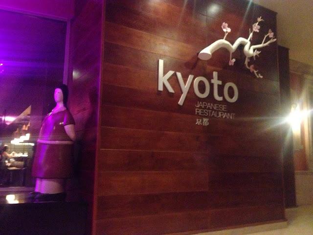プンタカナの日本食レストランKyoto