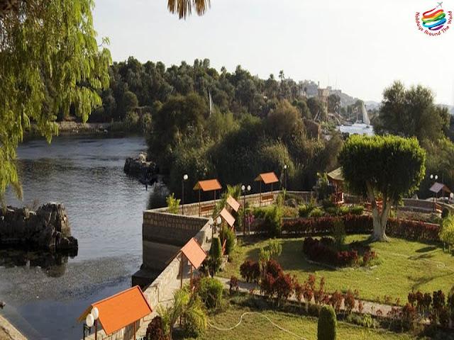 The Botanical Gardens - Aswan