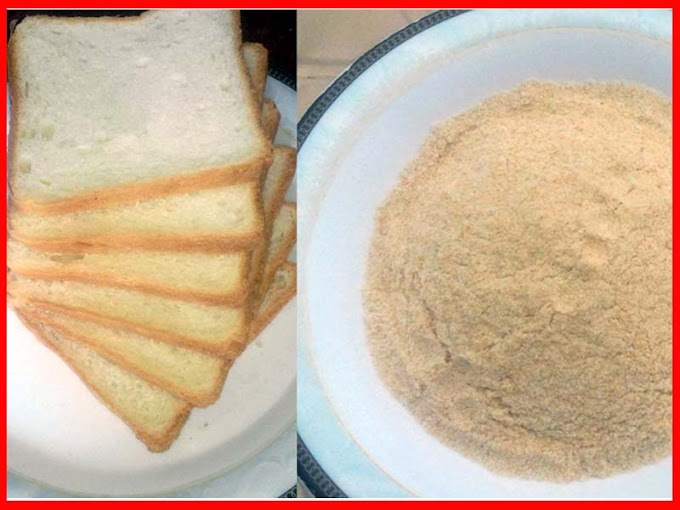 Homemade Easy Bread Crumbs Recipe