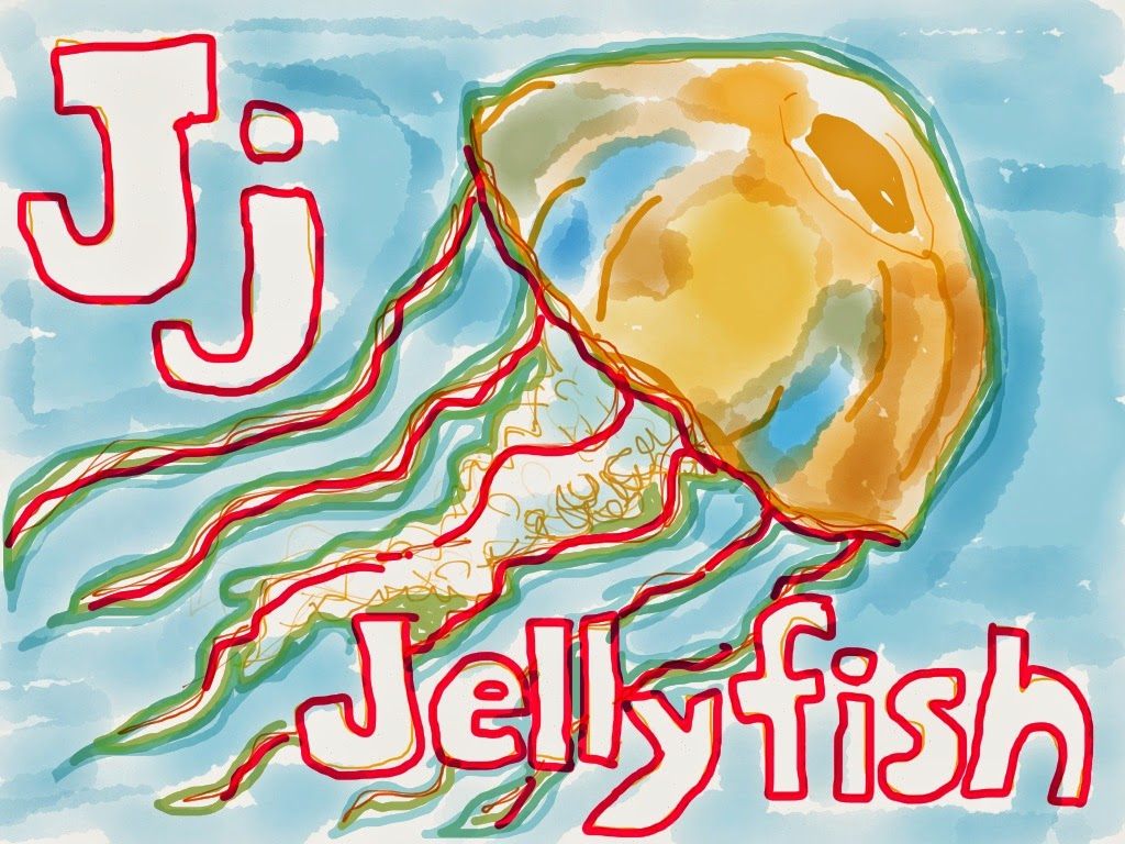 Man Overboard J Is For Jellyfish