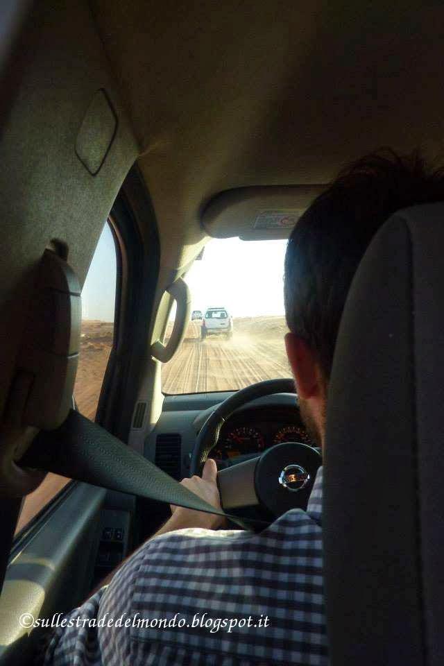 Sulle piste desertiche