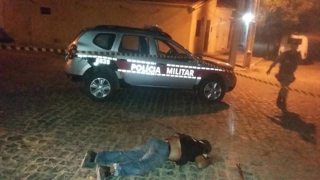 Vigilante é morto à bala enquanto trabalhava na madrugada em Cajazeiras