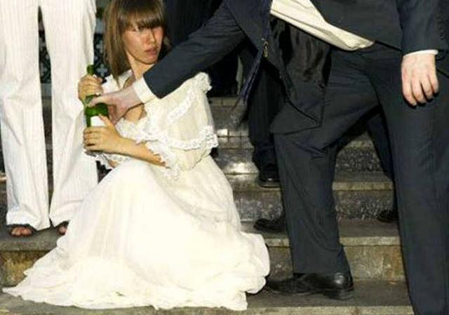 Histórias sobre noivas bêbadas