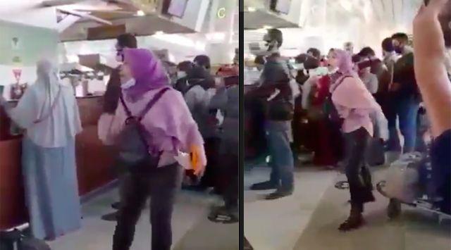 "Ngamuk di Bandara, TKW Ini Geram ""Jokowi Suruh Turun ke Sini Lawan Saya!"""