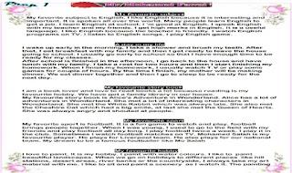 ملف باراجرافات الصف الاول الاعدادى حسب المواصفات الحديثة براجرافات اولى اعدادى من موقع درس انجليزى