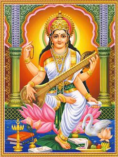 Maa Sarswati Wallpaper