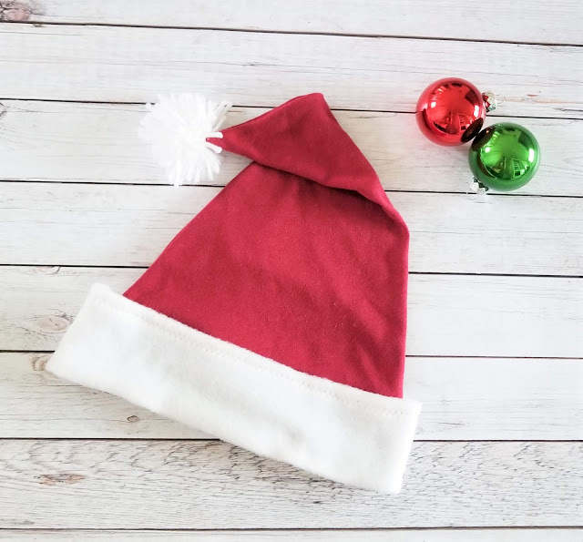 Sew up this quick and free Santa Hat Pattern that you can download for free in PDF form.