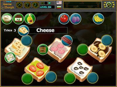 Sandwich Puzzle