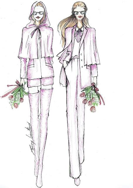 Fanny Liautard collection tailleurs féminin de mariage sur mesure créateur Paris
