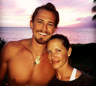 Kelly Wiglesworth with her former boyfriend Joe Anglim