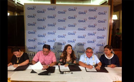 Comedy Queen Ai-Ai back at GMA 7, sealed a contract