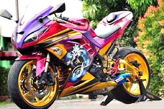 MODIFIKASI MOTOR YAMAHA R15 KEREN