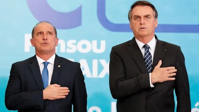 Bolsonaro recria Ministério do Trabalho e Onyx ocupa quarta cadeira no governo