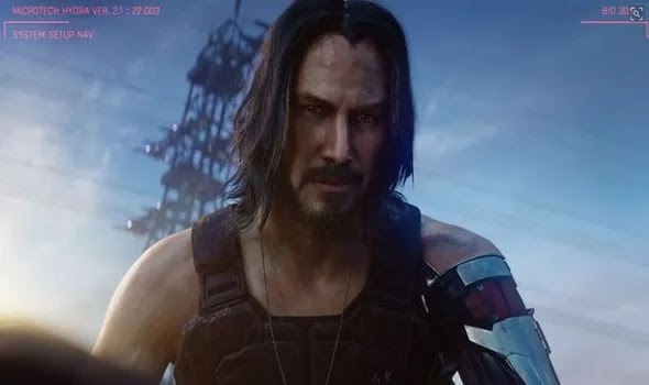 The date of the release of Cyberpunk 2077 was announced in E3 2019 by ... Keanu Reeves?