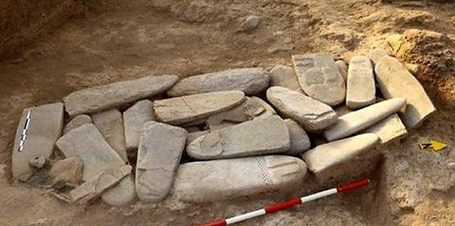 7,000-year-old carved stelae discovered at Tall Chegah-e Sofla in southern Iran