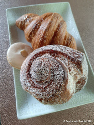 La Patisserie morning bun, croissant, almond macaroon