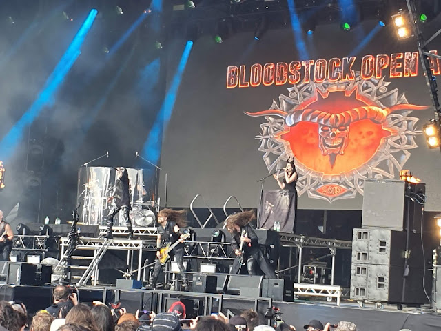 Cradle of Filth at Bloodstock 2019