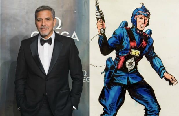 Star Wars model Buck Rogers gets a reboot and George Clooney is supposed to play the leading role