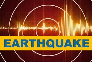People felt earthquake tremors in Delhi