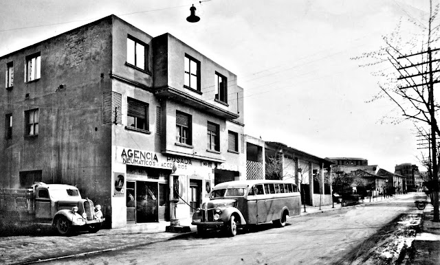 Torrelavega - Agencia Posada - c1950 - foto propiedad de El Diario Montañés