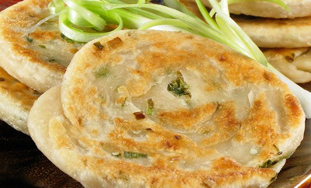 Scallion Paratha Recipe