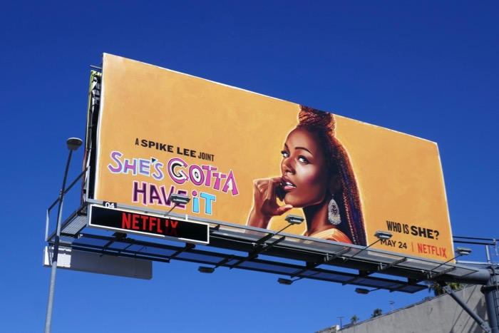 Shes Gotta Have It season 2 billboard