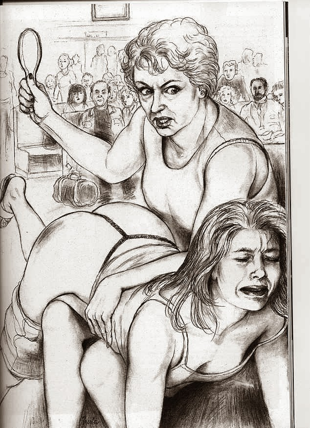 Lesbian spank drawings was specially