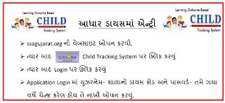 Aadhar Dise Online Entry | SSA Gujarat Aadhar Dise Student Entry Kem Karvi ?