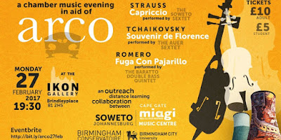 Music in Aid of ARCO at IKON Gallery
