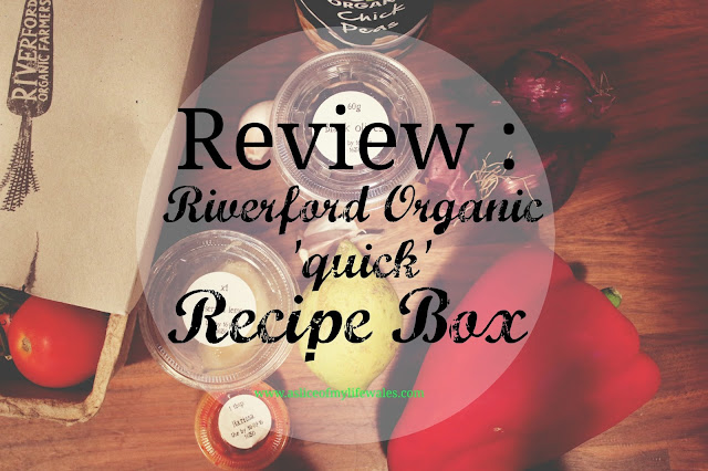 Review of the Riverford organic quick three meal recipe box for two people - take the stress out of cooking with this food subscription box - receive weekly deliveries of all the fresh food that you need ready measured out to create some delicious, healthy family meals.