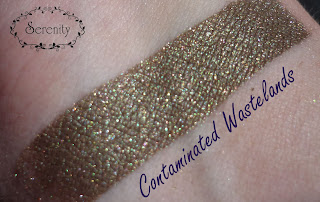Innocent + Twisted Alchemy Swatch Contaminated Wastelands