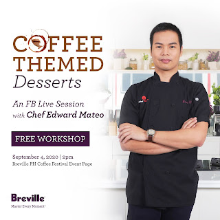 Patty Villegas - The Lifestyle Wanderer - Breville Online Campaign - Virtual Coffee Festival - Year 2 -coffee themed desserts