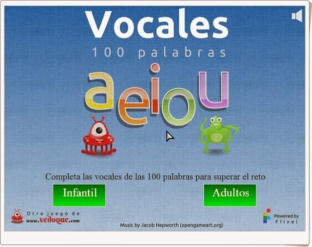 Vocales de Vedoque