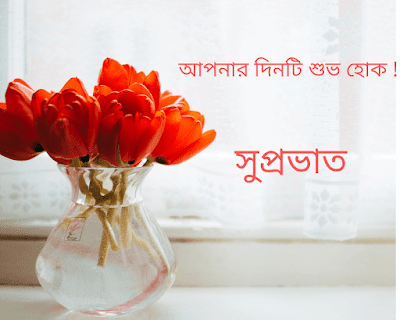 Good Morning Love images in Bengali