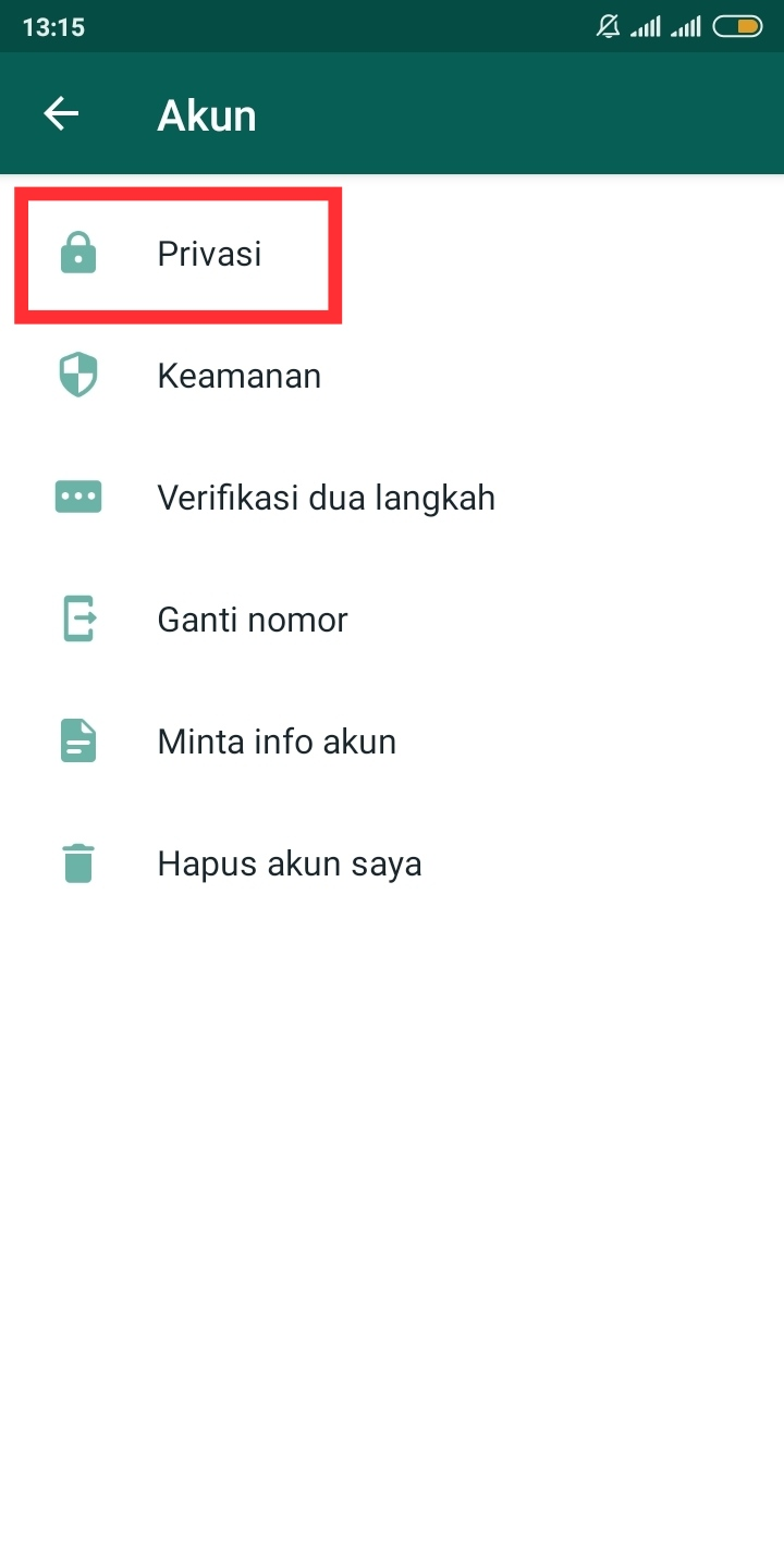 privasi fingerprint whatsapp