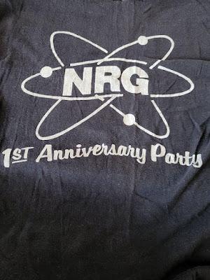 NRG 1st Anniversary t-shirt