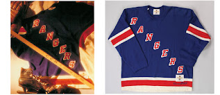 NHL CCM Heritage Jersey Collection - New York Rangers circa 1933