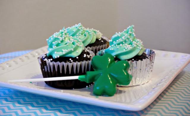 St. Patty's food, green food, dessert