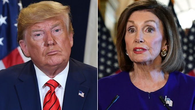 ''Nancy Pelosi you are a weak person, weak leader & pathetic puppet'' - Trump rains insults on House Speaker Pelosi